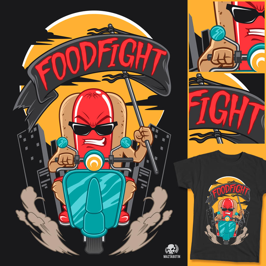 Foodfight by maztabotin