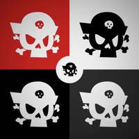 Pirates on Land logotype by elka