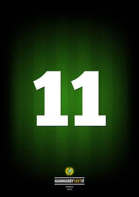 11, Hammarby IF Legend