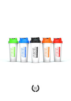 Steel Nutrition shakers