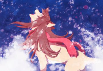The Wolf Children - Yuki by Legend-Dr