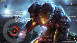 Ironman slash Rainmeter