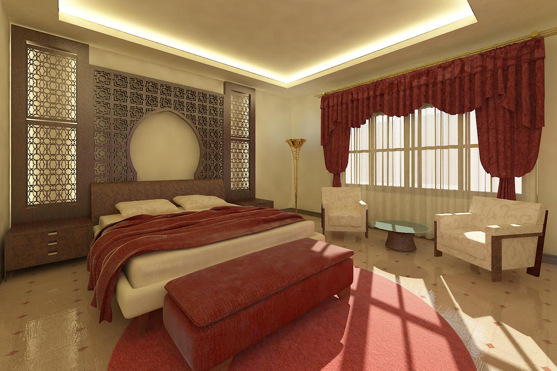 Oriental Bedroom By SHEdesign ...