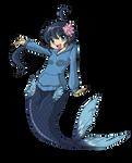 Commission - Fuuko Mermaid