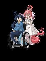 Commission - Fuuko and Shinku by BOAStudio