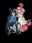 Commission - Fuuko and Shinku