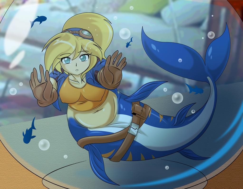 Commission - Mermaid Girl Maribelle by BOAStudio