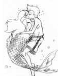 Sketchpalooza 300s - 06 Underwater kiss