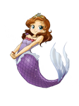 Sofia The First mermaid (color)