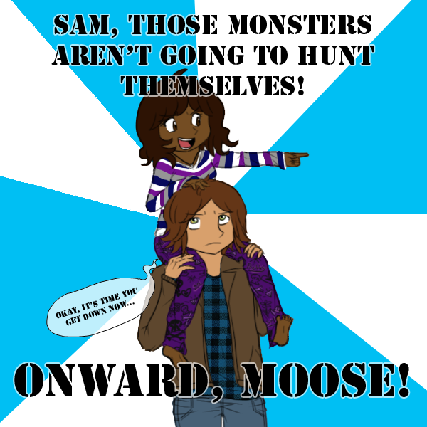 ONWARD MOOSE by 33Snickerdoodle33