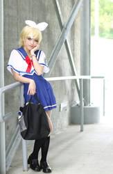 Rin Kagamine School Uniform Cosplay