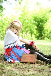Touhou- Alice Margatroid Cosplay