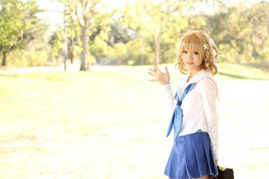 Hanasaku Iroha- Ohana Matsumae Cosplay
