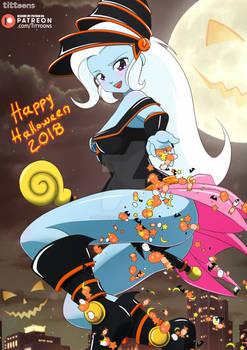 Trixie Dark Magician Girl | MLP:EG | Halloween