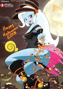 Trixie Dark Magician Girl   MLP:EG   Halloween