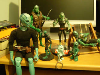 Abe sapien collection 2 by ferret14uk