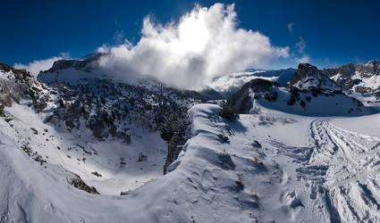 In the Rofan mountains by AeneasDo