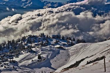 The Rofan Mountains by AeneasDo