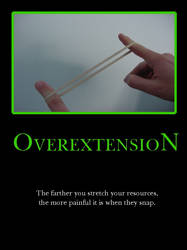 Overextension by demotivated16