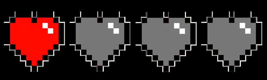 8bit heart by xxx515xxx on deviantart