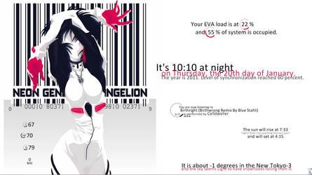 Evangelion desktop by Nuria-M