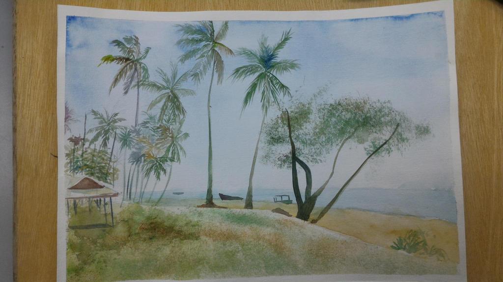 The beach by MoJimJim