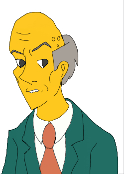 Monty Burns by hurremthecat
