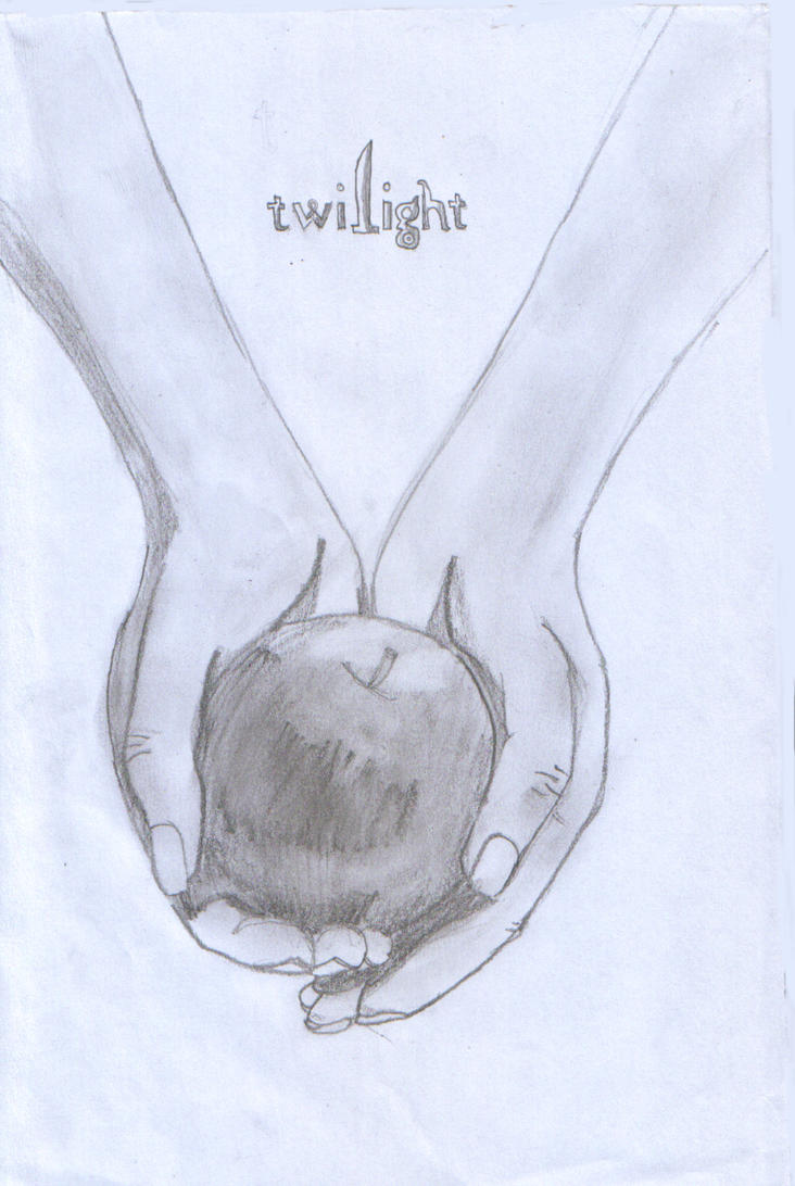 Twilight Book Cover Drawing : Twilight cover drawing by bubblegum on deviantart