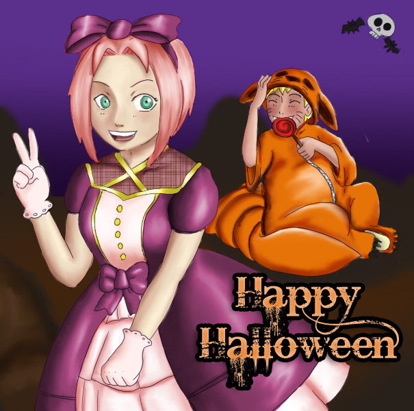 Color: Halloween by BrassYumiru