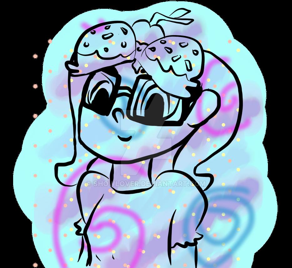 Nerdy Cupcake by Showlover
