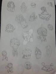 Plant Hairdo doodle dump