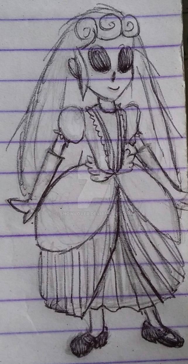 Dollie in a Dress