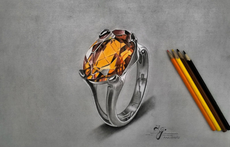 Topaz Ring by Anubhavg