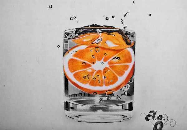 Orange-Water by Anubhavg