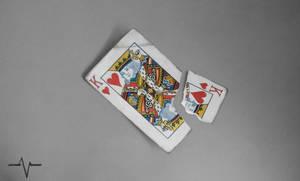 King Of Hearts Playing Card - Drawing