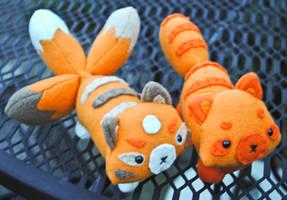 Custom Kitsune and Tanuki