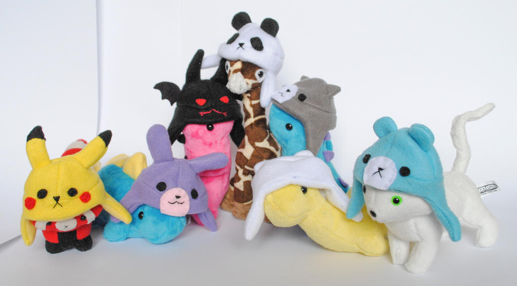 Plushie Sized Hats by radtastical