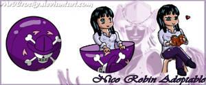 Nico Robin Squiby pet