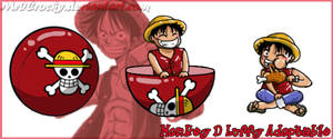 Monkey D Luffy Squiby pet