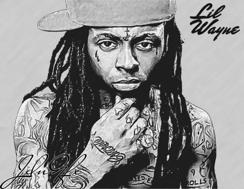 Pencil Drawings Of Lil Wayne Lil Wayne Fan Art - Sk...