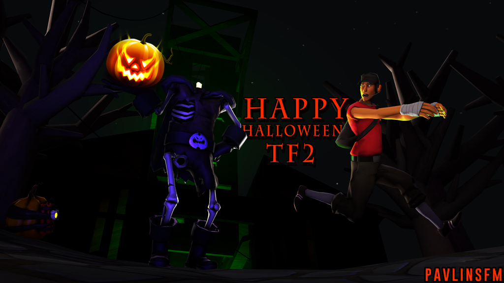 TF2] [SFM] Halloween Poster by PavlinSFM on DeviantArt