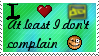 Deviantart not Deviantcomplain by Leetys-Stamps