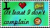 Deviantart not Deviantcomplain by Leetys-Stamps