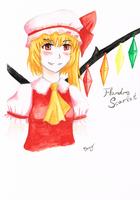 Flandre Scarlet Aquarelle by BenjiK