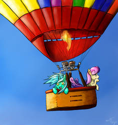 ATG IV Day 4 - Hot Air Balloon Trip by BenjiK