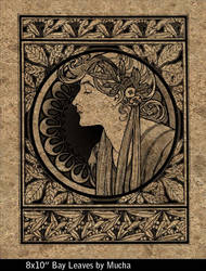 Bay Leaves by Mucha