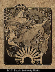 Biscuits Lefvre-Utile by Mucha