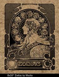 Zodiac by Mucha