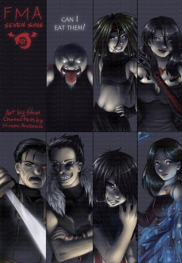 FMA 2003: Seven Sins -spoilers- by DesignsBySloan on ...