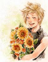 ffxv - Sunny Smile by DesignsBySloan